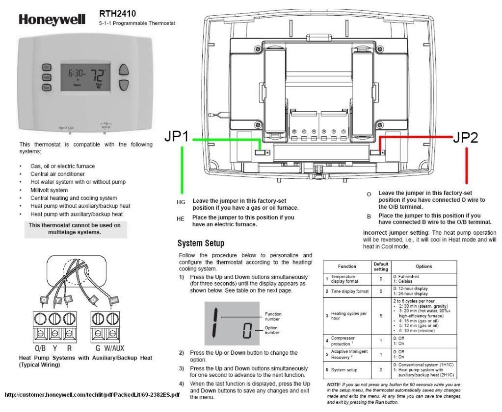 Honeywell Rth7500 Wiring Diagram
