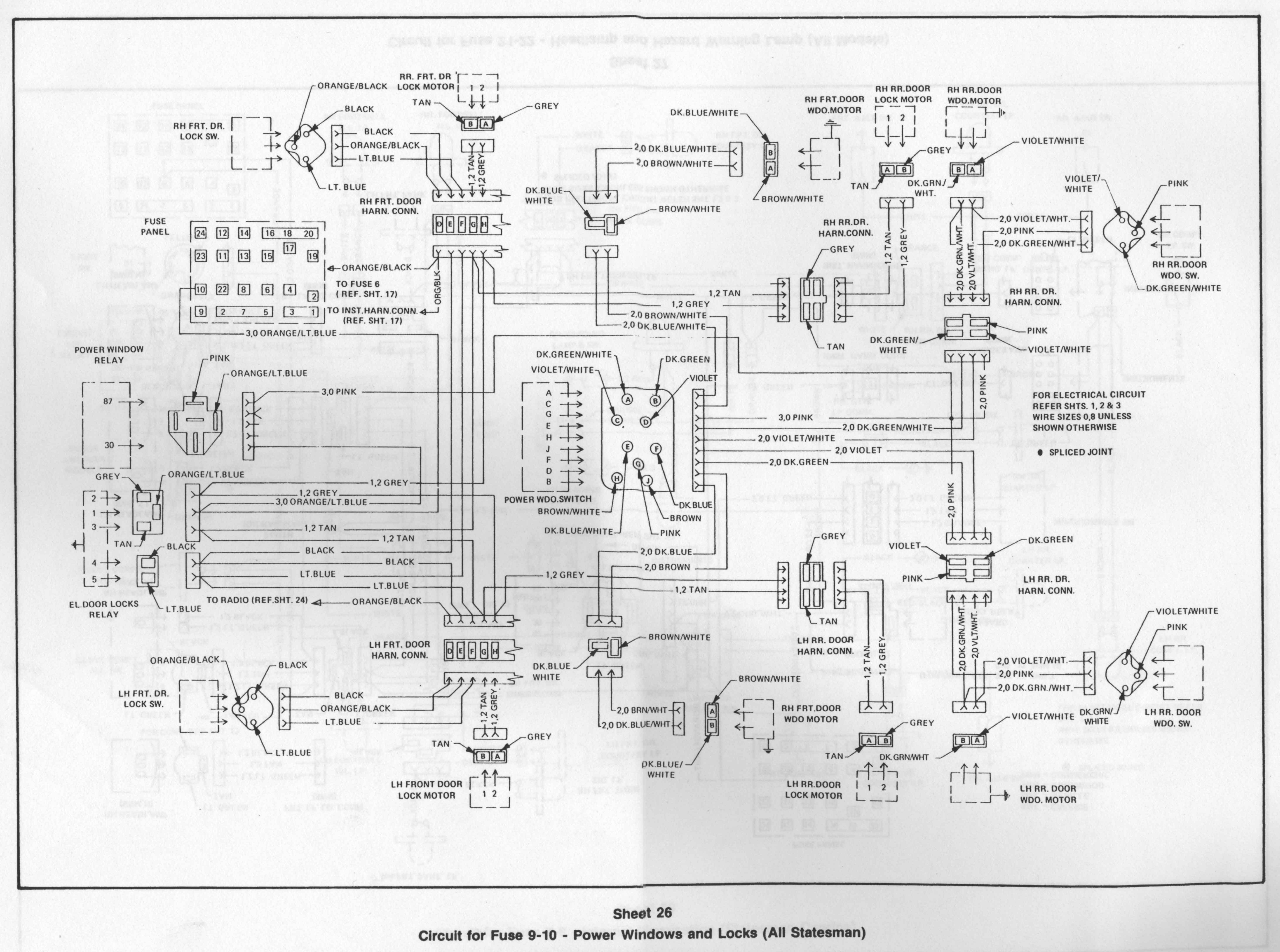 Gm Parts Book Diagrams Hq Holden Wiring Diagram