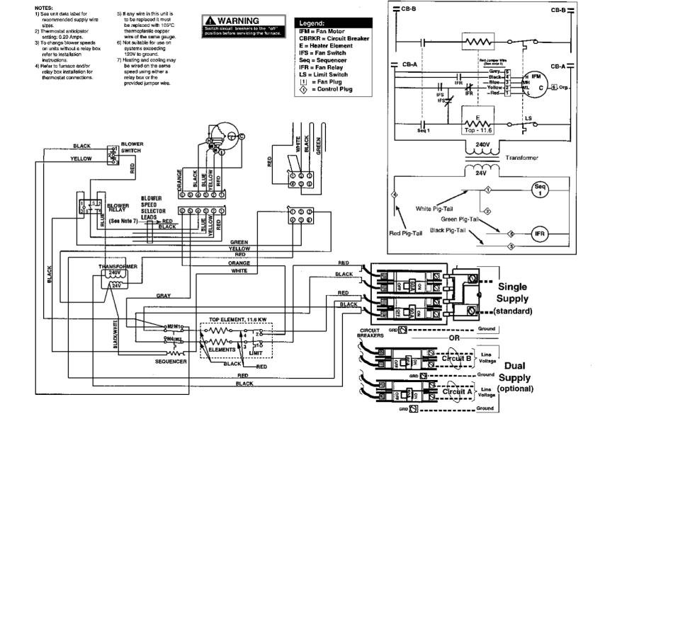 Intertherm E2eb-015ha Wiring Diagram