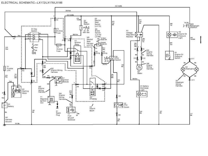 John Deere D110 Wiring Diagram