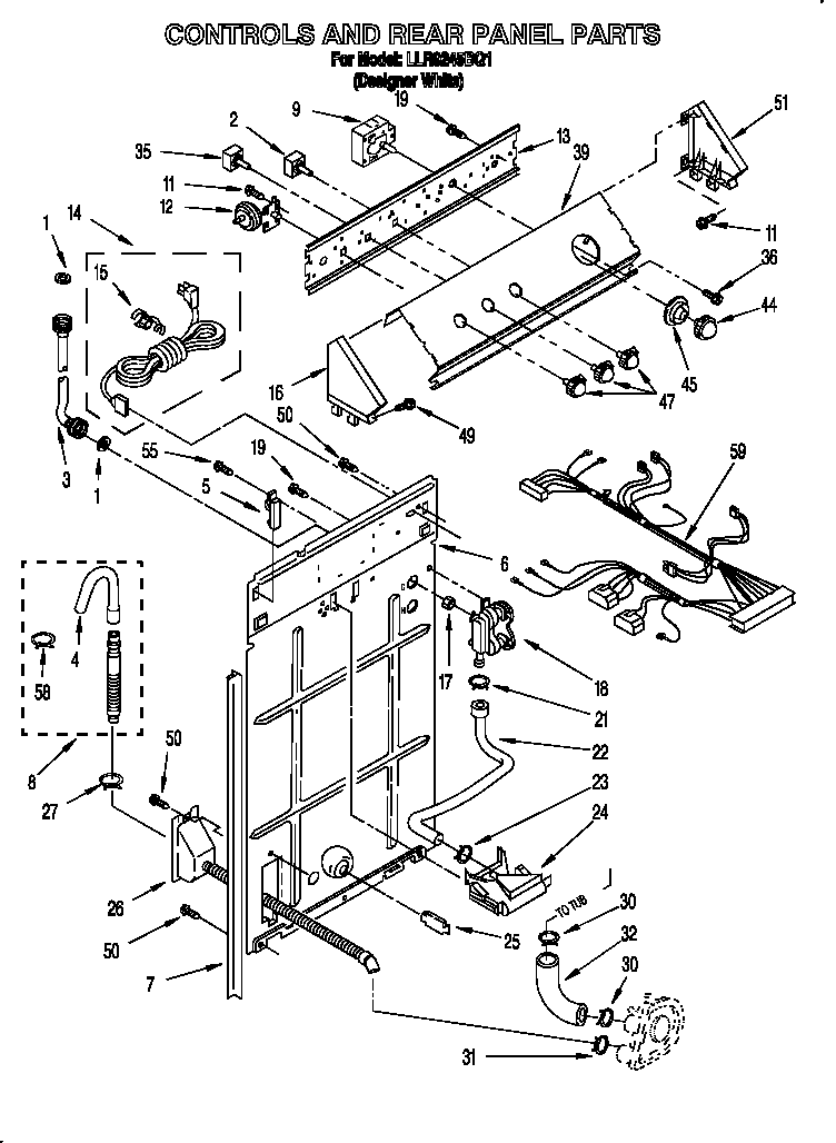 Kenmore He2 Plus Parts Diagram