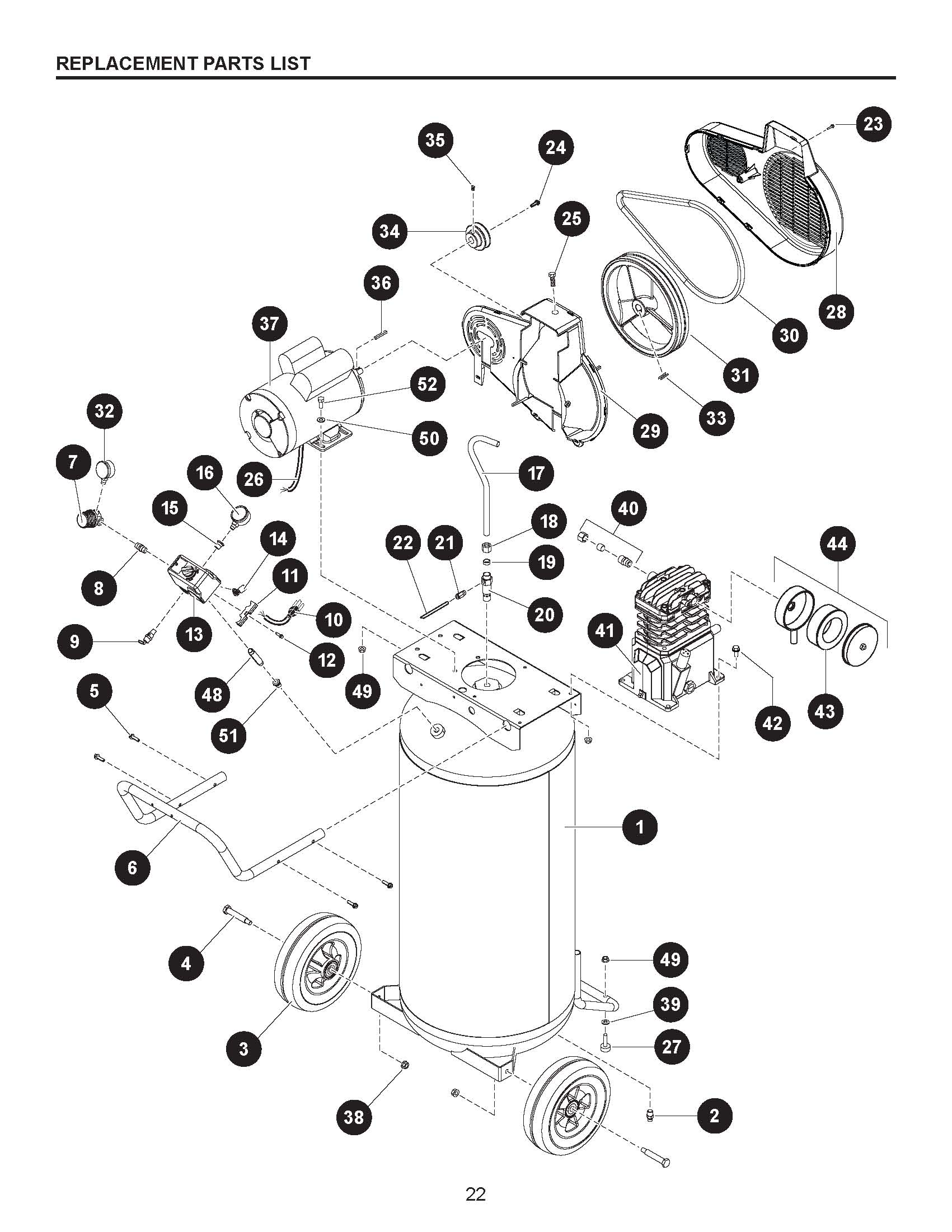 Kobalt Air Compressor Wiring Diagram