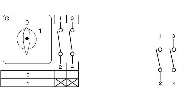 Kraus & Naimer C10 Wiring Diagram
