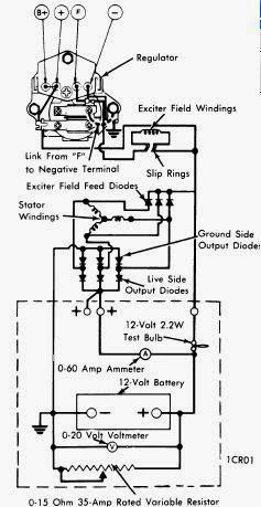 Lucas 18 Acr Alternator Wiring Diagram