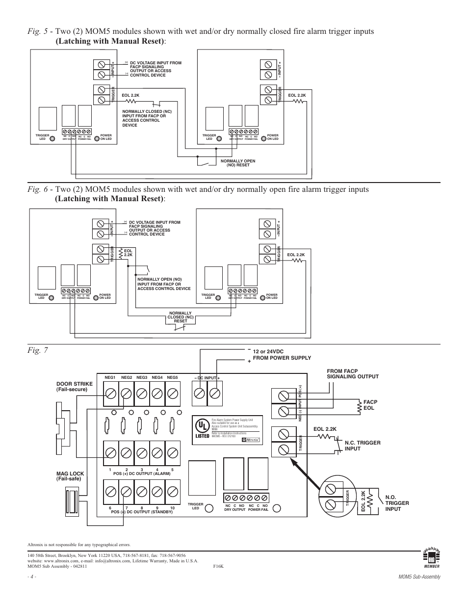 Mom5 Altronix Wiring Diagram