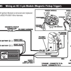 Sbc Hei Distributor Wiring Diagram 2005 Chevy Express Front Brakes Locked Msd 6al