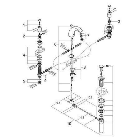 Pegasus Faucet Parts Diagram