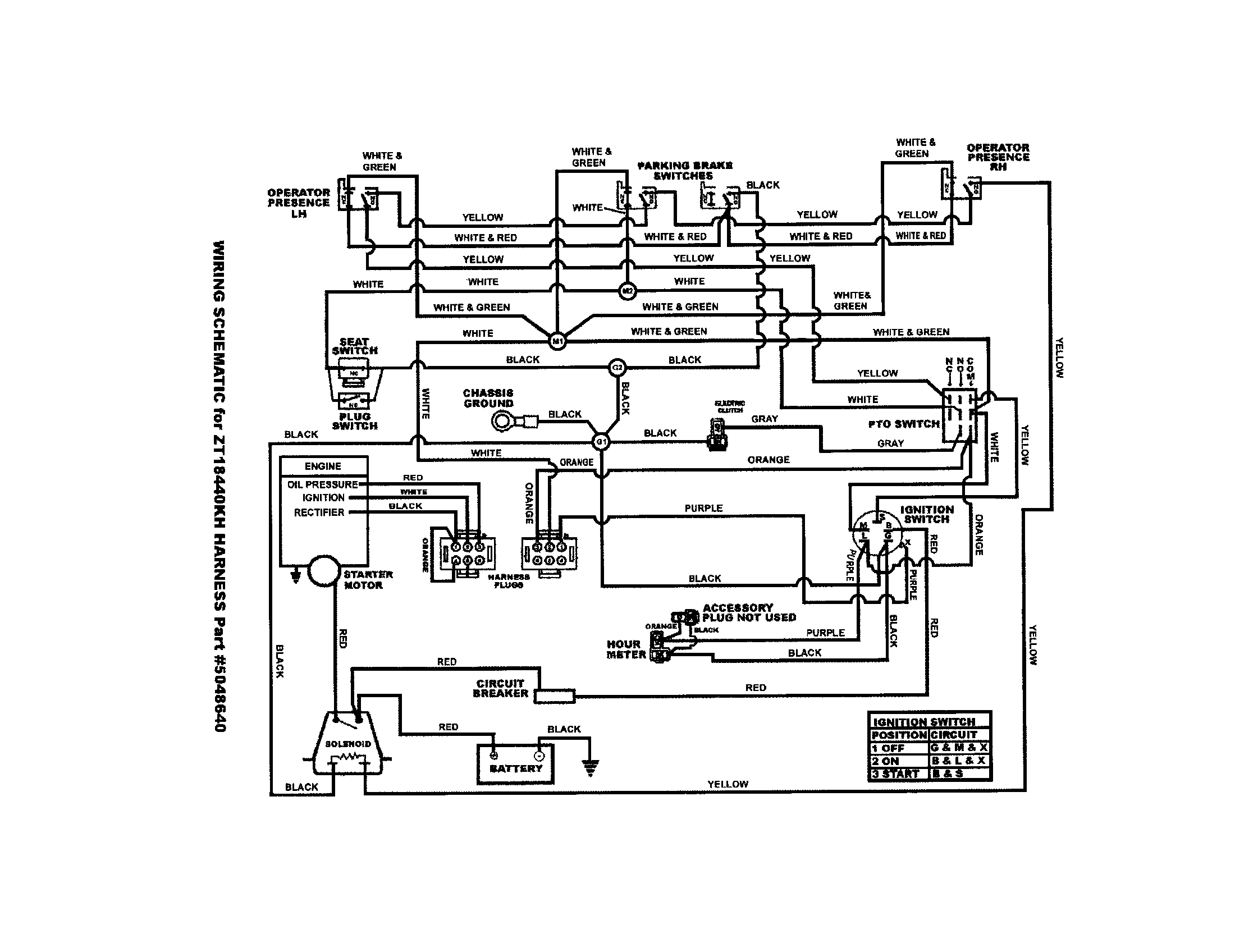 Simplicity Broadmoor #1693694 Electrical Wiring Diagram