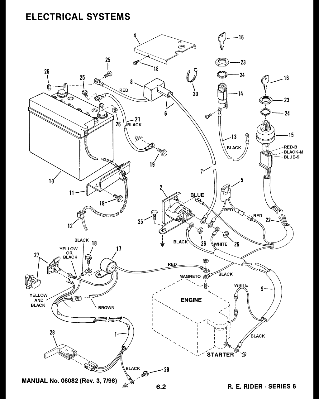 Snapper Re130 Wiring Diagram