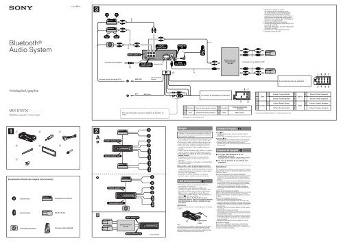 Sony Mex-bt2700 Wiring Diagram