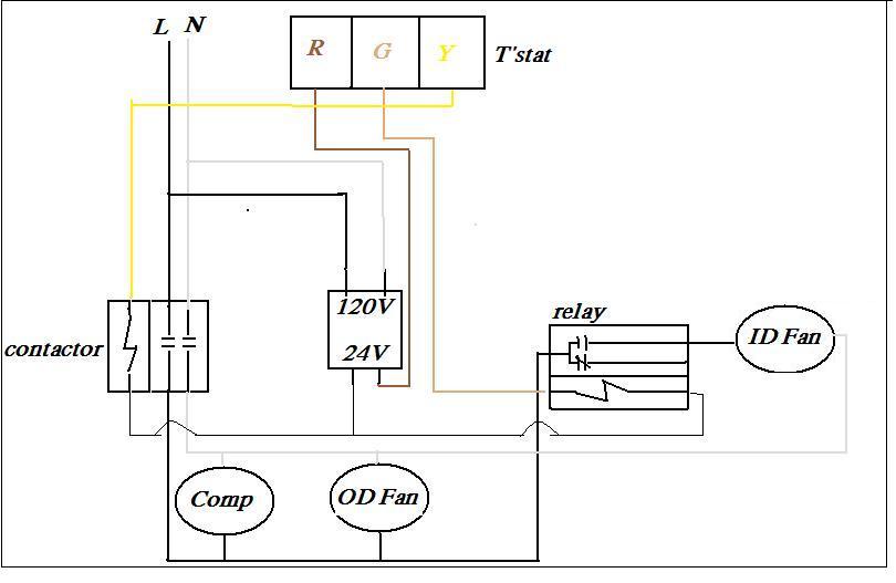 Standing Pilot Furnace Wiring Diagram