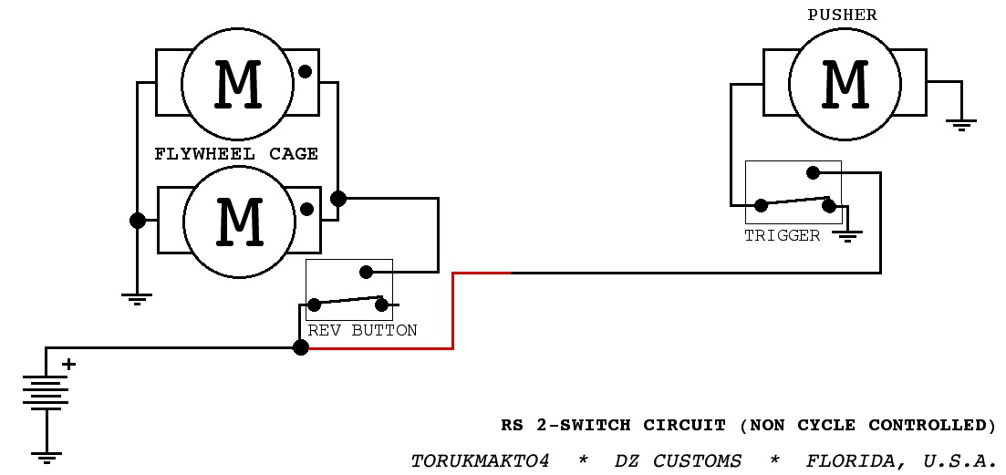 Three Switch Wiring Diagram For A Rapidstrike