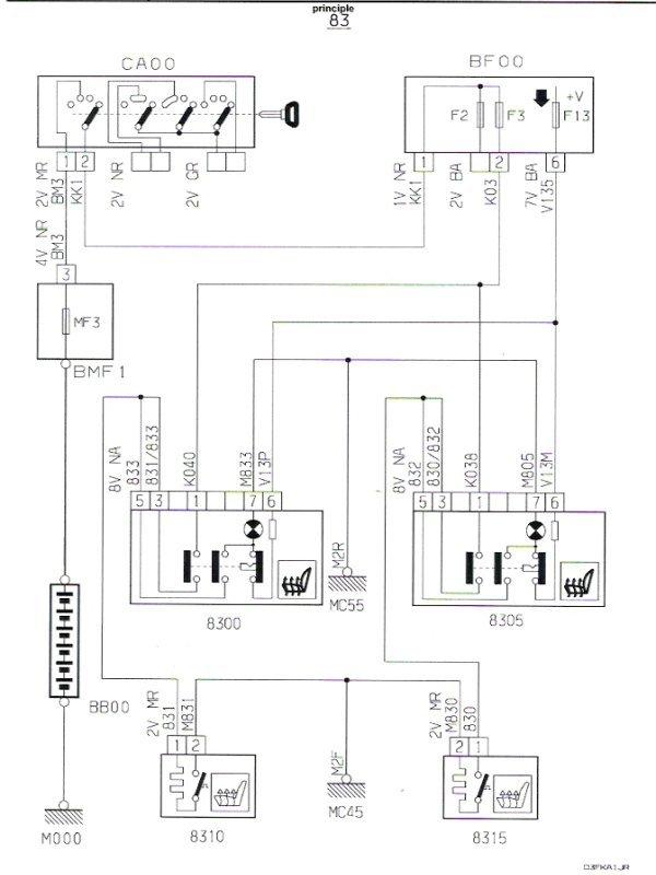 Tigra Wiring Diagram