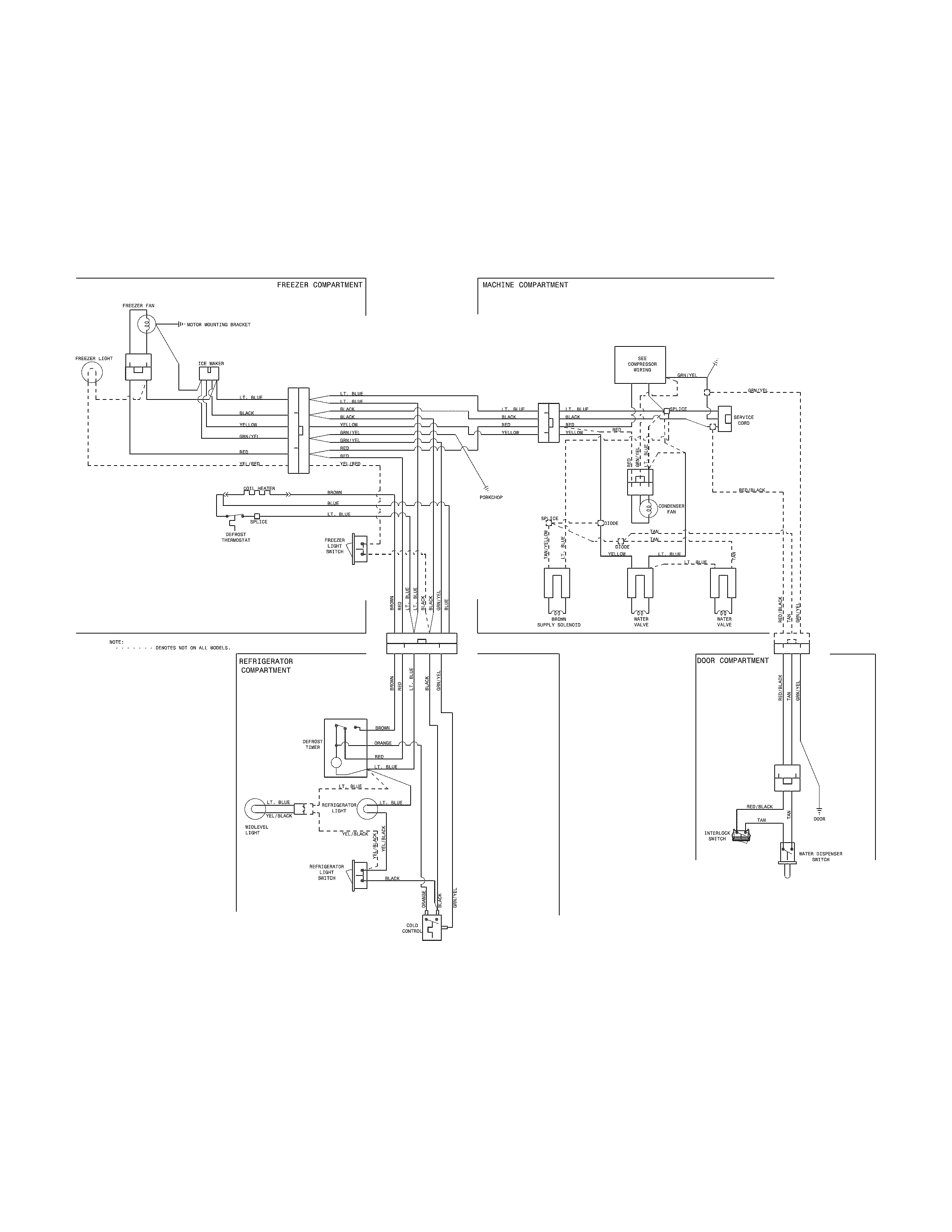 Traulsen Freezer Wiring Diagram