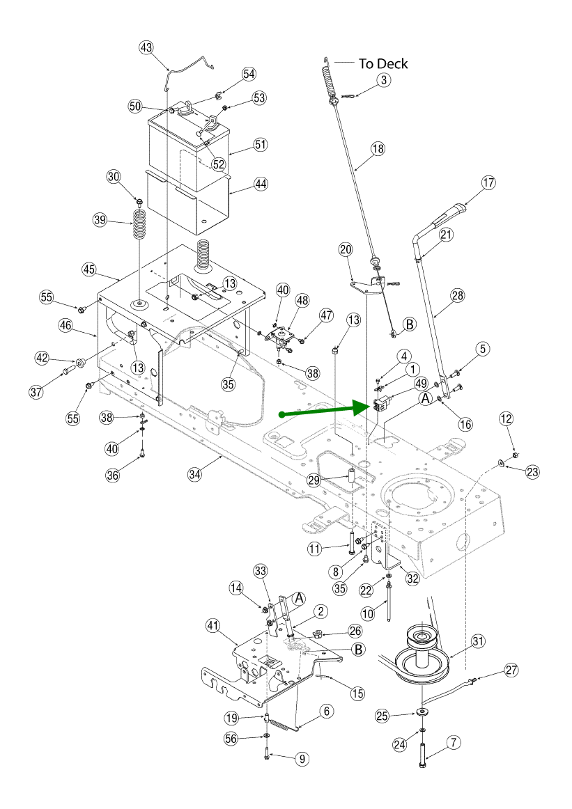 Troy-bilt Super Bronco Wiring Diagram