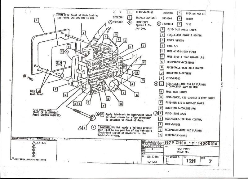 Wiring Diagram 1979 F-body Rear Defogger