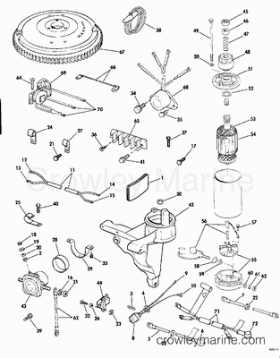 Wiring Diagram 1981 Evinrude Power Pilot