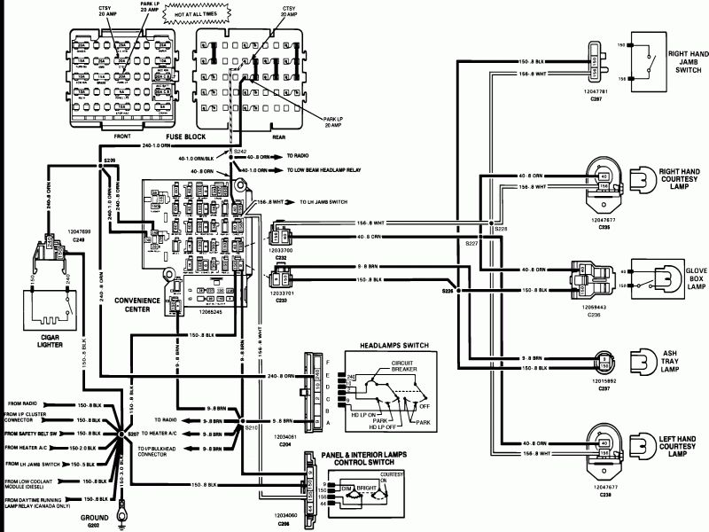 Wiring Diagram A.c Clutch On 1993 S 10pickup
