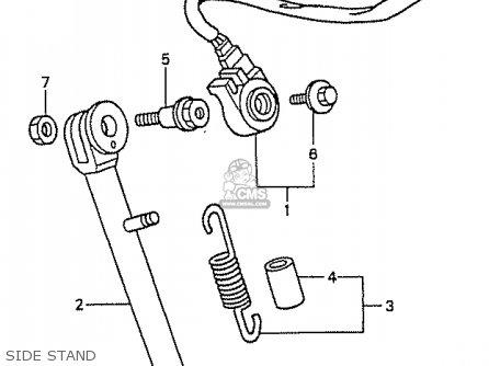 Wiring Diagram For 81 Honda Cm200t