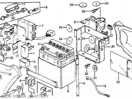 Wiring Diagram For 81 Honda Cm200t