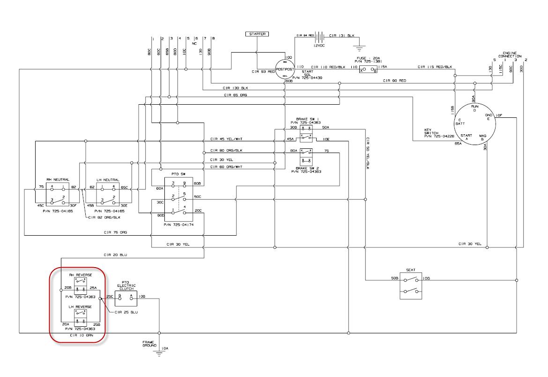 hight resolution of cub cadet 122 wiring