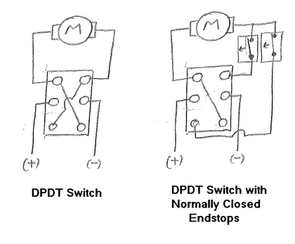 Wiring Diagram For Reversing A 120v Motor With Dpdt Toggle