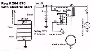 Wiring Diagram For Tympanium Voltage Regulator-rectifier