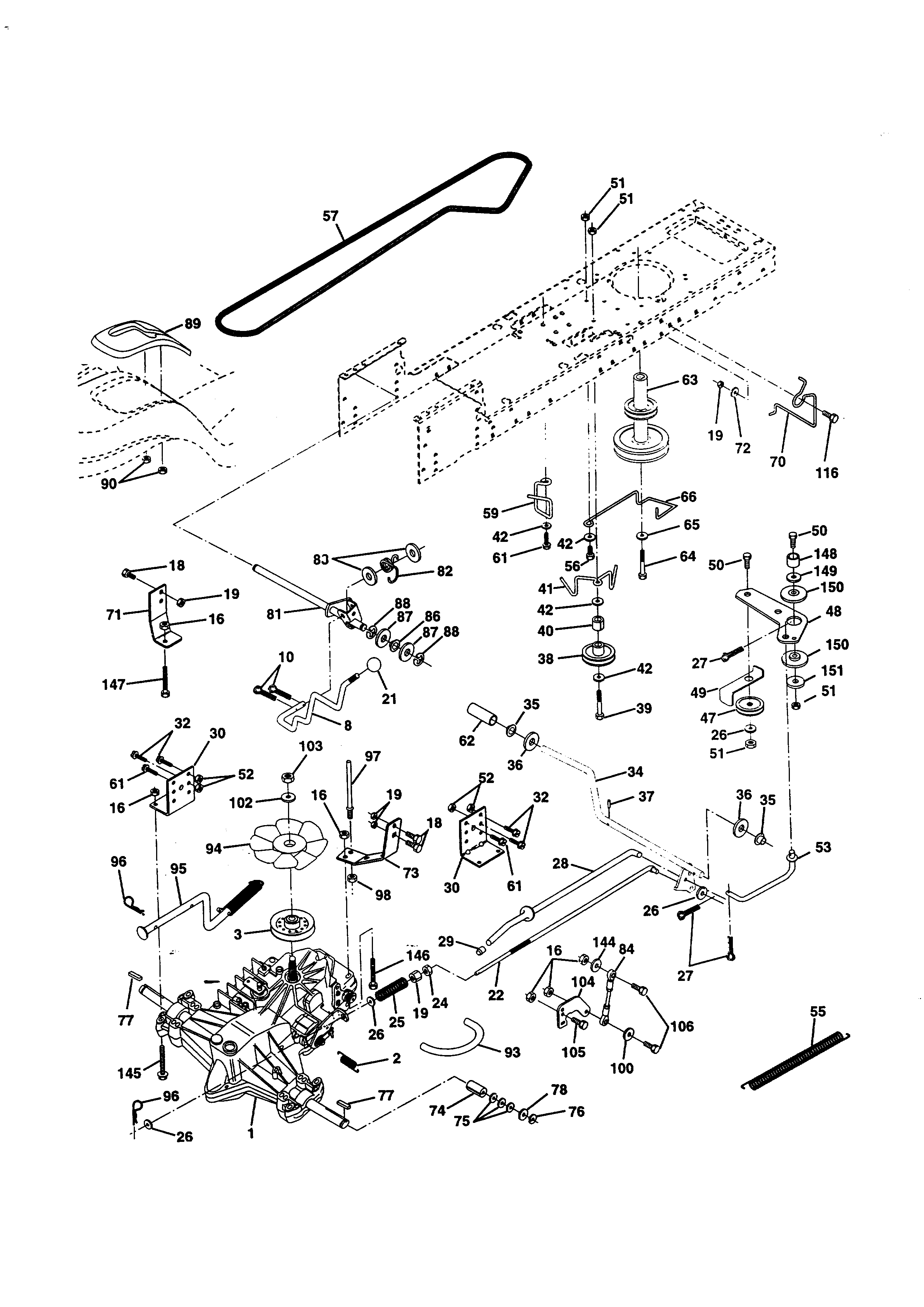 Wizard Lawn Mower Belt Diagram