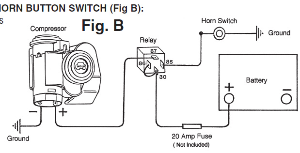 Wolo Horn Wiring Diagram