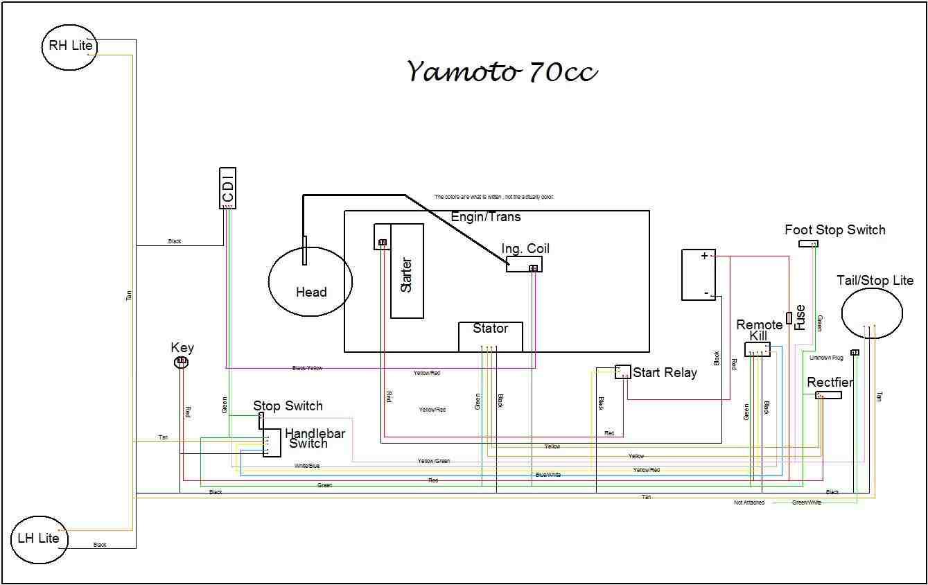 hight resolution of zstar 110cc atv wiring diagram