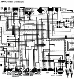 91 Cb750 Chopper Wiring Diagram - 1977 xs650 wiring diagram