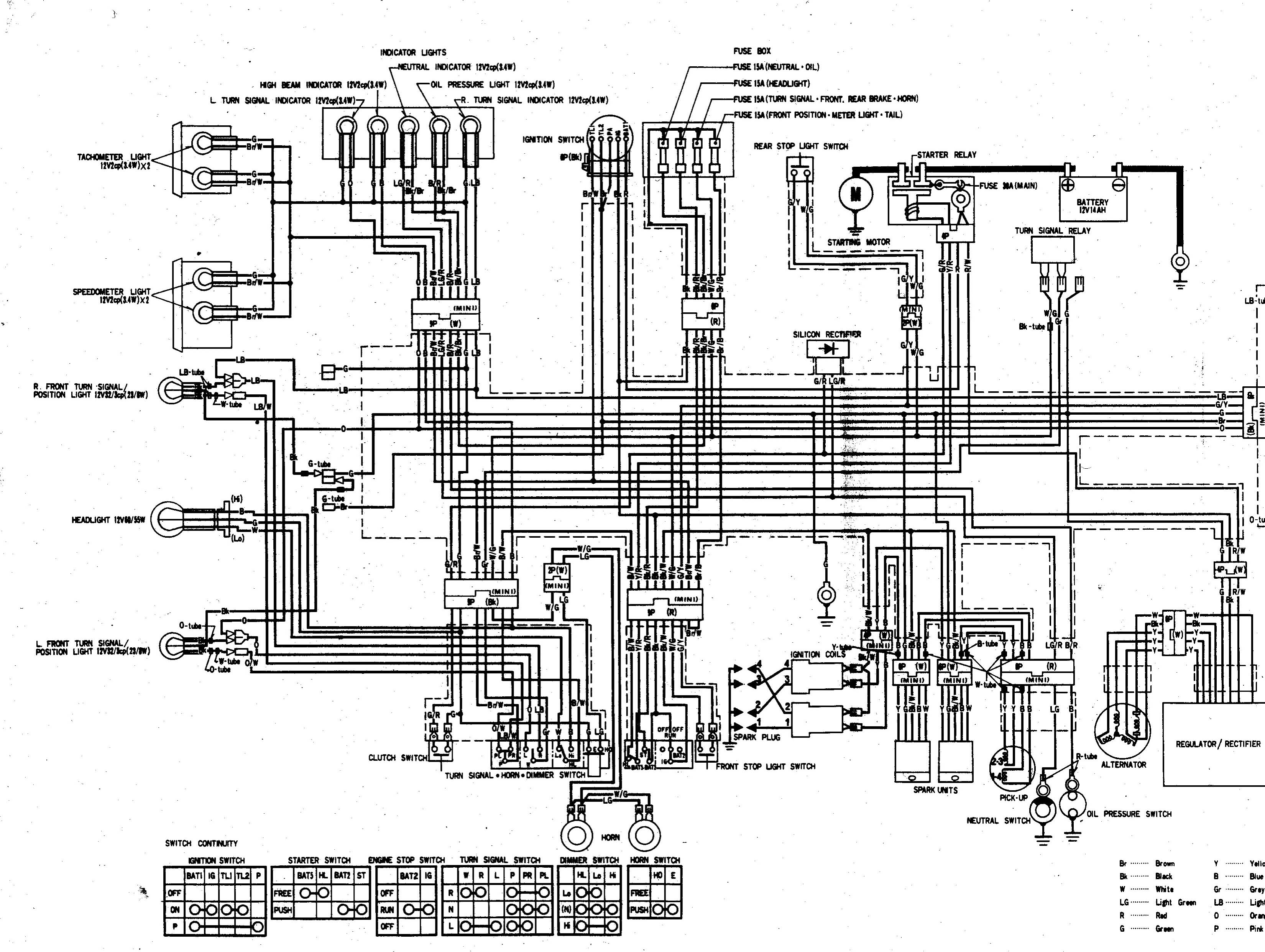 1983 Kawasaki 650 Csr Wiring Diagram, 1983, Free Engine