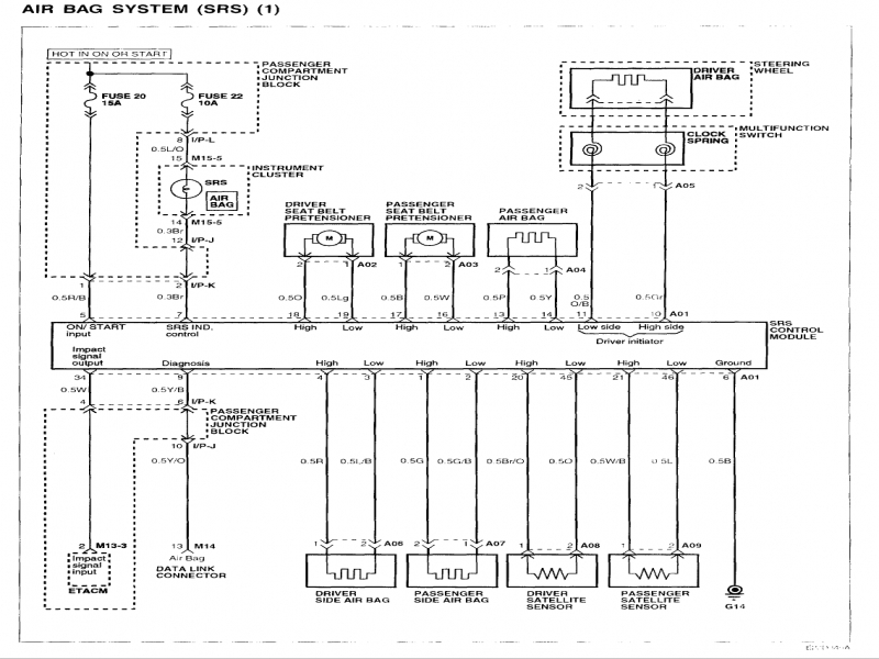 2002 Hyundai Elantra Wiring Diagram  Wiring Forums