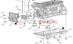 12601932] Saab Cover, Engine Front – Genuine Saab Parts From