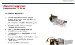 15 Kw Breakered Heat Strip For Arcoaire Air Handlers Fcv, Fcp, Fcx