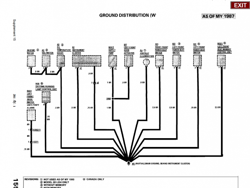 1988 Mercedes Sel Ignition Switch Wiring  Wiring Forums