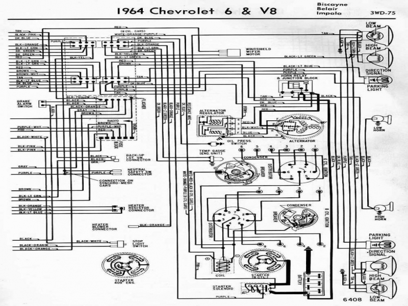 wiring diagram 1972 chevy truck alternator 1963 chevrolet ... 1972 gto wiring diagram