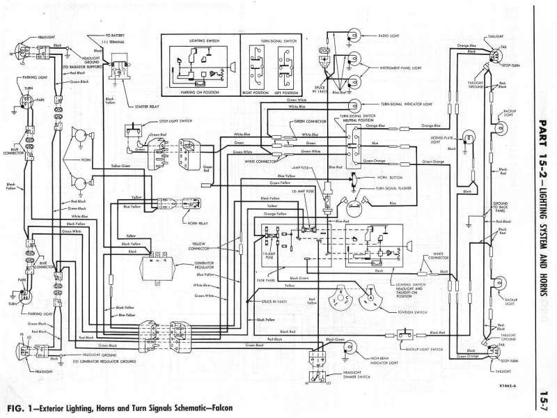 Ford Falcon Ranchero Wiring Diagram 1964 Ford Falcon Ranchero Wiring