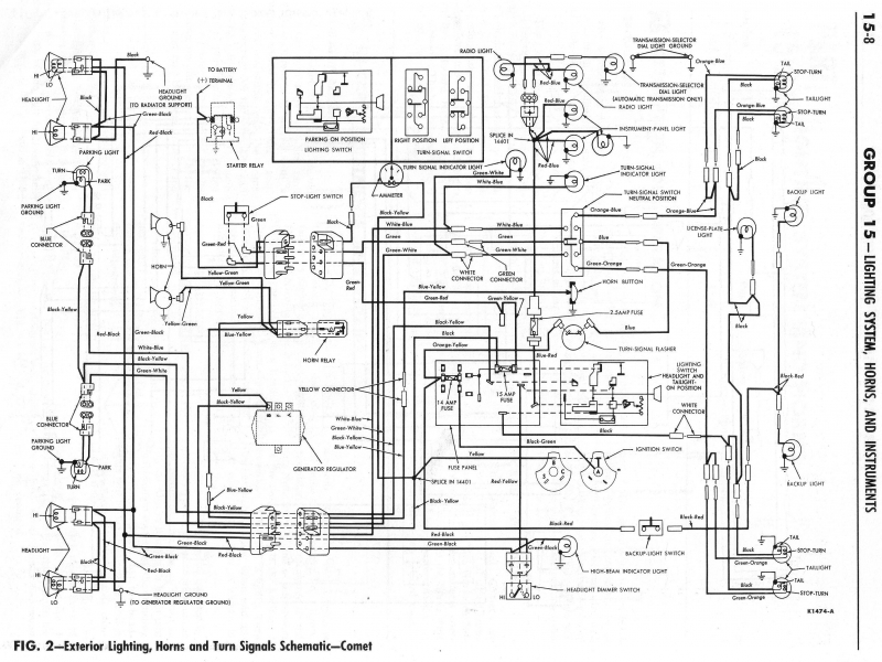 Wiring Harness For 63 Ford Falcon Ranchero - Wiring Forums