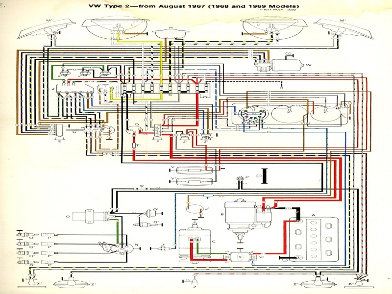 1967 Vw Beetle Fuse Box Wiring Diagram