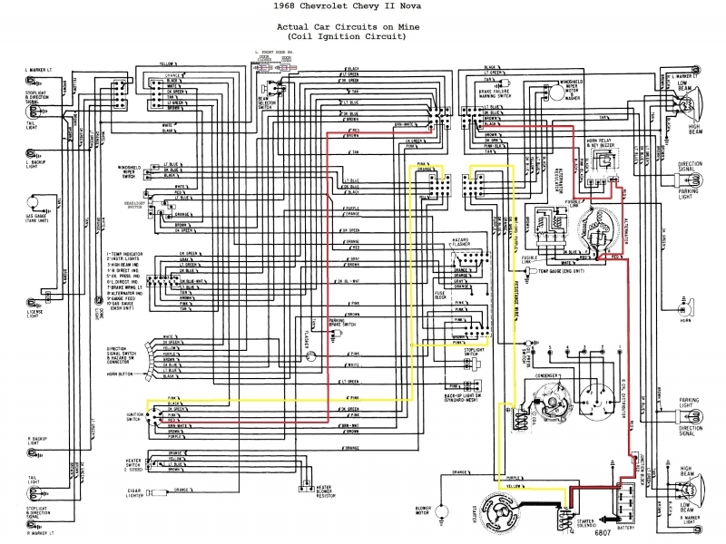 1967 Pontiac Firebird Wiring Diagram - Wiring Forums