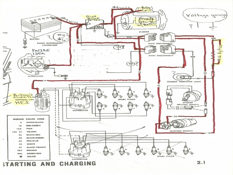 1971 ford alternator wiring diagram wiring forums. Black Bedroom Furniture Sets. Home Design Ideas