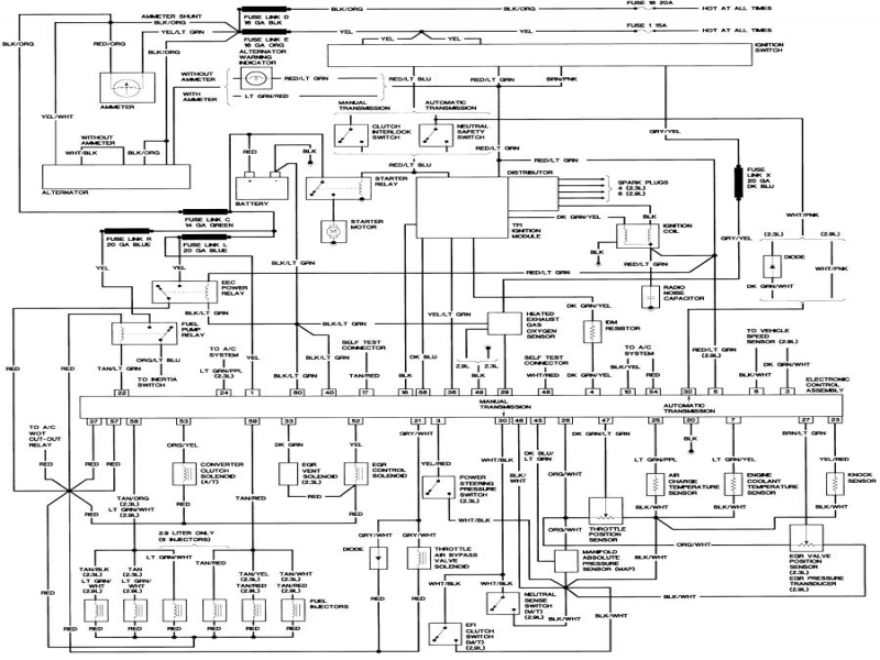 1989 Ford Bronco Ii Wiring Diagram  Wiring Forums