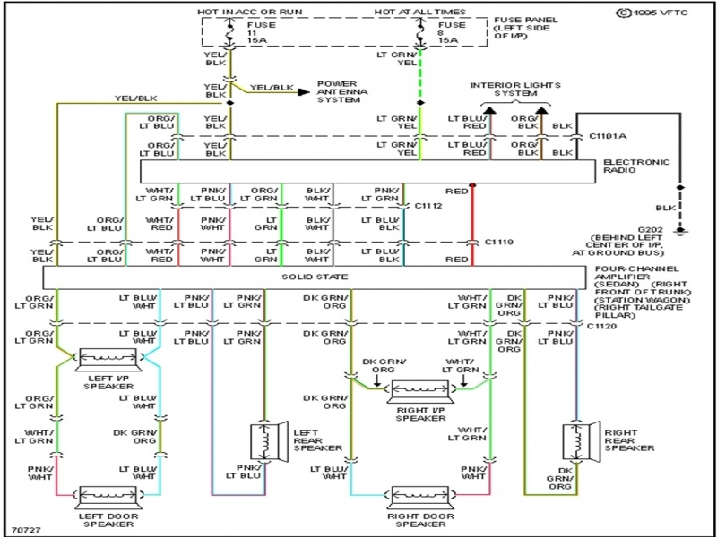 2004 ford crown victoria headlight wiring diagram 1993 crown victoria stereo wiring diagram