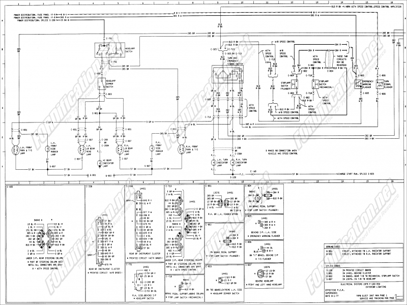Iring Diagram For Ford Steering Column  Wiring Forums