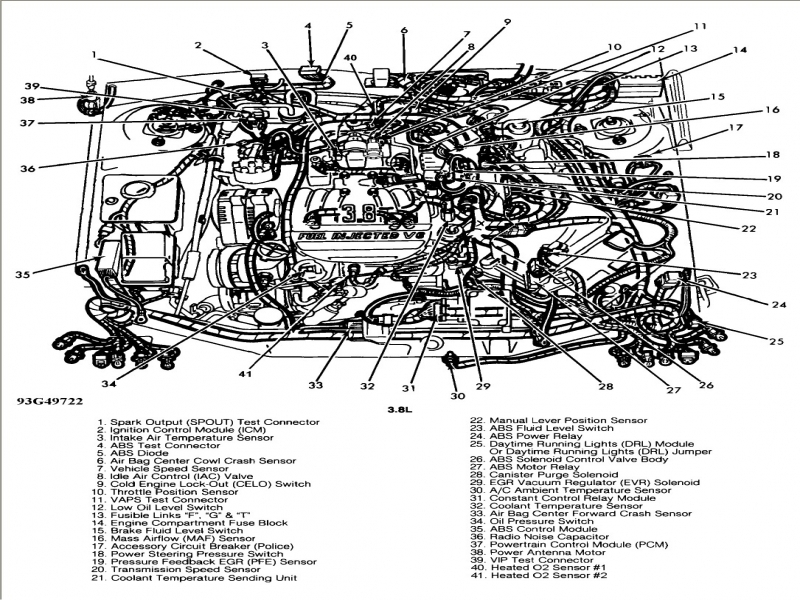1999 Ford Taurus Transmission Diagram