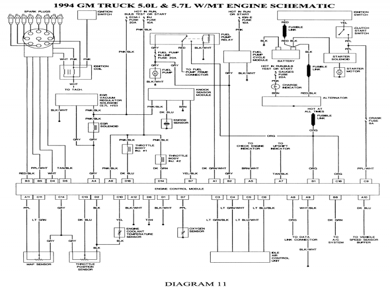 97 Chevy C1500 Silverado Wiring Diagram  Wiring Forums