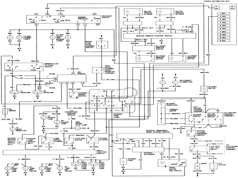 1999 Ford Explorer Wiring Diagram Wiring Diagram Collection