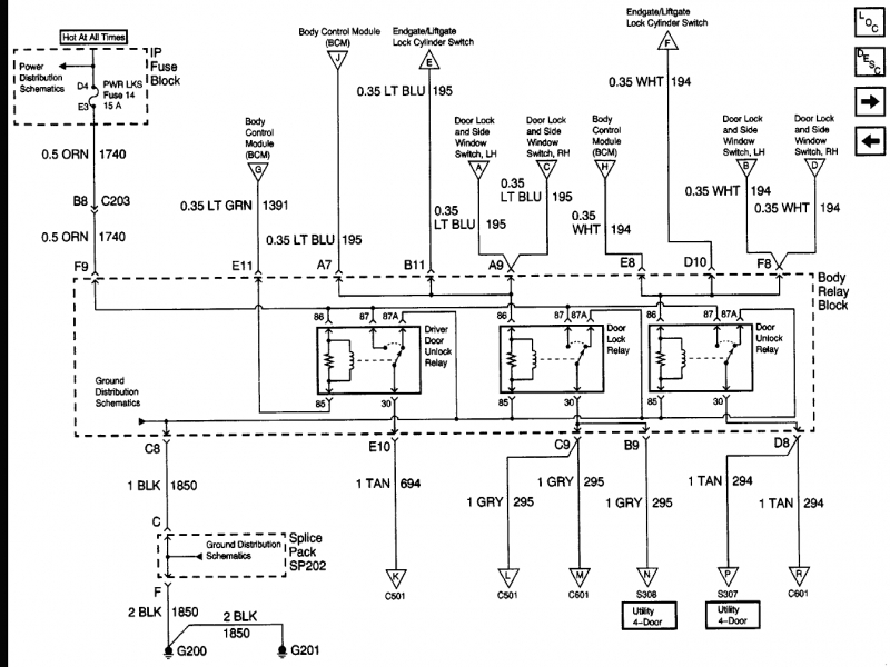 s ac wiring diagram auto van kes 2004 chevy trailblazer