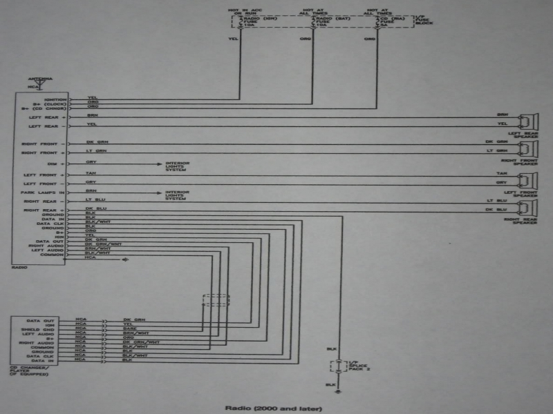 1994 Saturn Wiring Diagram